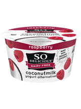 So Delicious Raspberry Coconut Milk Yogurt Alternative, 150g