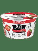 So Delicious Strawberry Coconut Milk Yogurt Alternative, 150g