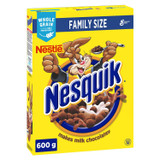 Nestle Family Size Nesquik Cereal, 600g