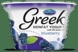 Norman's Nonfat Blueberry Greek Yogurt, 6 Oz