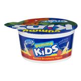 Givat Kids Banana Strawberry Yogurt, 4 Oz
