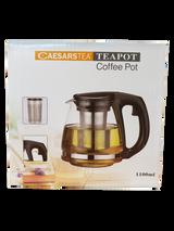 Caesars Tea Teapot Coffee Pot With Infuser