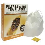 Caesars Tea Tea Filters, 50pk