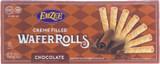 EmZee Cream Filled Chocolate Wafer Rolls, 75g