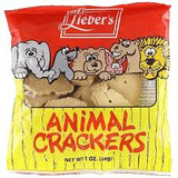 Lieber's Animal Crackers, 28g