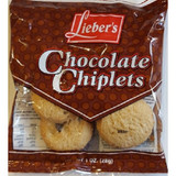Lieber's Choco Chiplets, 28g