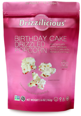 Drizzilicious Birthday Cake Drizzled Popcorn, 102g