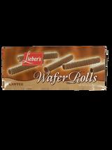 Lieber's Coffee Wafer Rolls, 75g