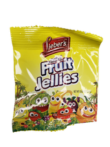 Lieber's Mini Fruit Jellies, 25g