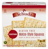 Yehuda Gluten Free Matzo-Style Squares Everything Flavor 300g
