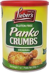 Lieber's Gluten Free Original Panko Crumbs, 200g