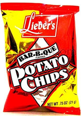 Lieber's Barbecue Potato Chips, 141g