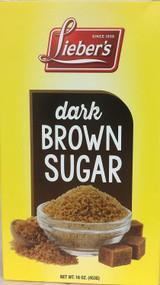 Lieber's Dark Brown Sugar, 453g