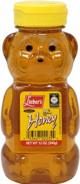 Lieber's Pure Bear Squeezable Honey, 340g