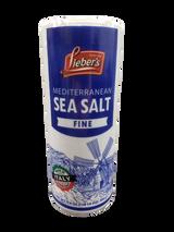 Lieber's Mediterranean Sea Salt, 500g