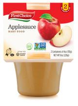 FirstChoice Applesauce Baby Food 2pk, 226g