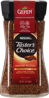Nescafe Taster's Choice House Blend Coffee Kosher for Passover, 198g