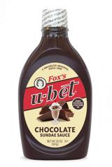 Fox's U-Bet Chocolate Sundae Sauce, 20 Oz