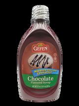 Gefen No High Fructose Corn Syrup Chocolate Syrup, 22 Oz