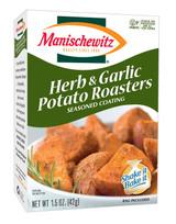 Manischewitz Herb & Garlic Potato Roasters Seasoned Coating, 42g