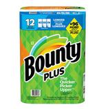 Bounty Plus 12 Rolls Paper Towel