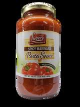 Lieber's Spicy Marinara Pasta Sauce, 680g