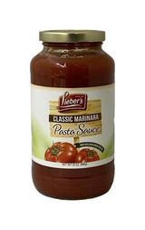 Lieber's Classic Marinara Pasta Sauce, 680g