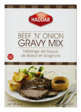 Haddar Beef 'n' Onion Gravy Mix, 4 Oz