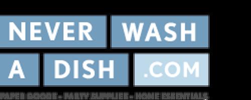 Never Wash A Dish