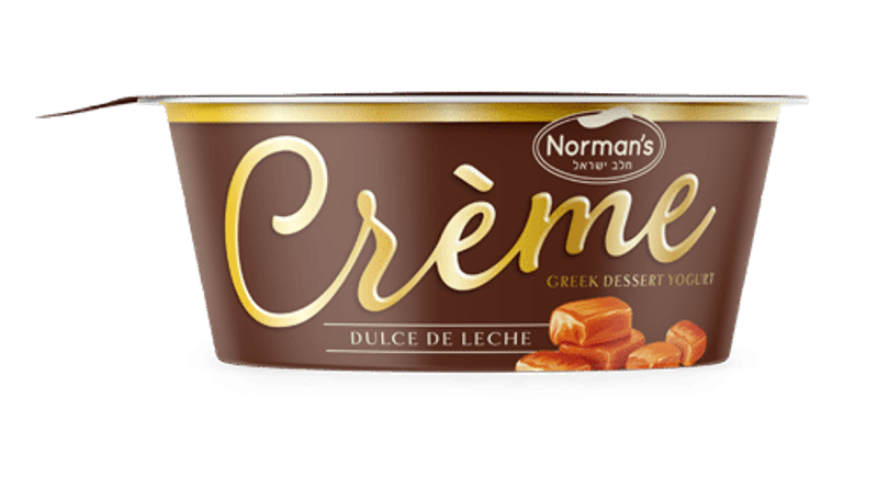 True decadence meets rich creamy goodness.  Norman���s Cr��me is a novelty, never before seen in the Cholov Yisrael world.  Crafted in small batches with only the finest and most authentic ingredients.  Cr��me is truly an elevated Greek yogurt dessert experience.  Good source of Protein