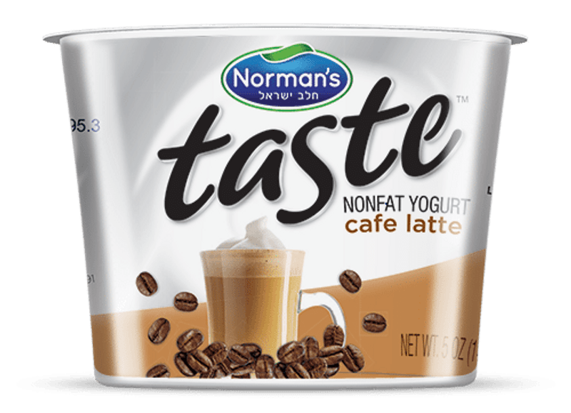 The Taste of a great Cafe Latte a Non Fat Yogurt can help get your day off to a great start!  Ultimate mouth-watering yogurt experience.  You���ll love the all natural ingredients and the healthy goodness in every spoonful.