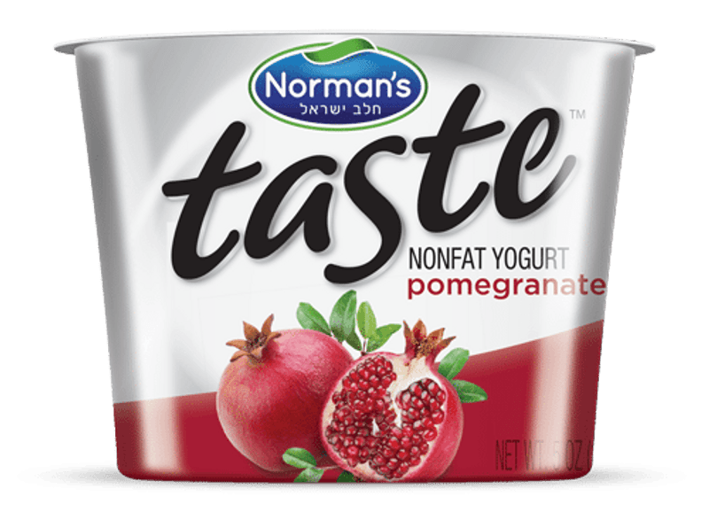 The Taste of a great Pomegranate a Non Fat Yogurt can help get your day off to a great start!  Ultimate mouth-watering yogurt experience.  You���ll love the all natural ingredients and the healthy goodness in every spoonful.