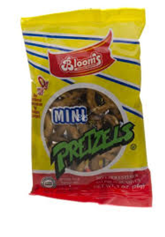 Mini Pretzels  No Cholosterol  No Preservatives