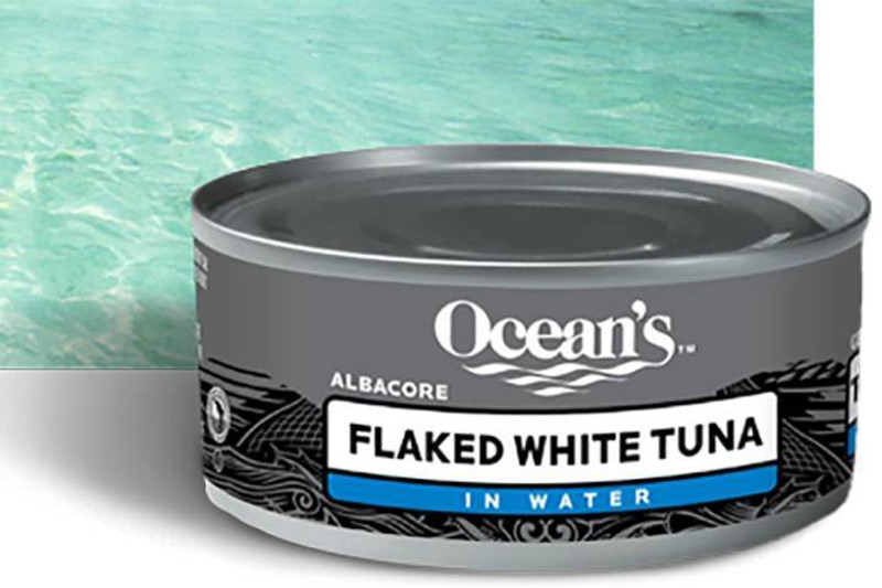 GREAT MEALS FAST - Ocean's Flaked White Albacore Tuna is a healthy and delicious way to create great meals fast. The subtle flavor of Albacore is a good substitute for dishes that call for chicken. Our flaked white tuna is packed in water for a lower fat content and to provide you with the freshest flavor. HEALTHY EATING: Ocean's Flaked White Albacore Tuna is a delicious low calorie option. Not only is our Flaked White Albacore Tuna low in fat and saturated fat, it���s also free of Trans fat and rich in protein.