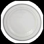 Elegant China like plates