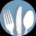 Clear Cutlery