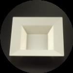 Square Ivory Plates