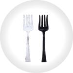 Plastic Serving Forks