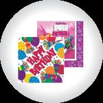 Birthday Themed Napkins