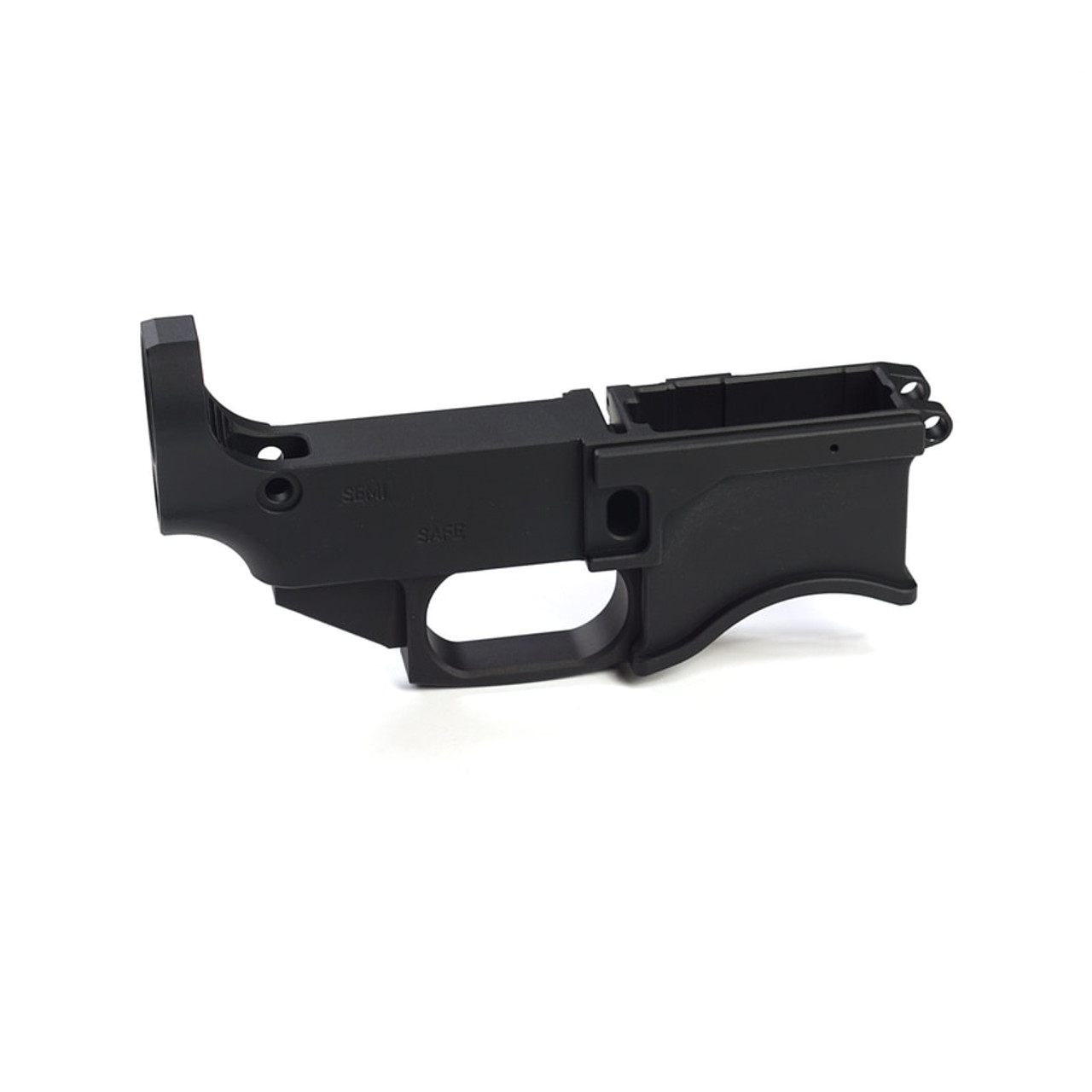 AR 80% Lower Receiver - Billet - Black Anodized
