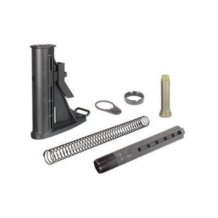 AR-15 M4 6-Position Stock Buffer Tube Assembly, Mil-Spec