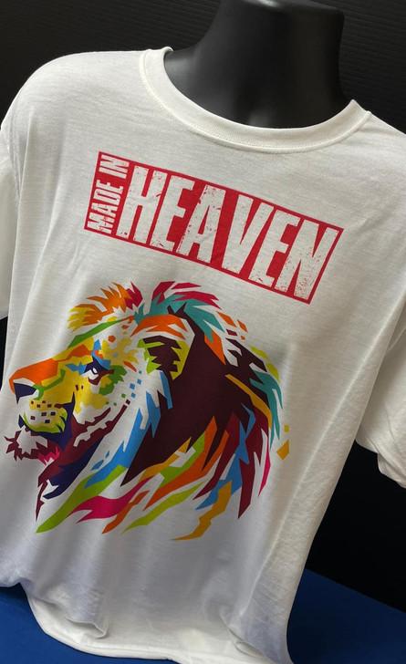 Revivalcamp T-shirt - Leon con Made in Heaven (damage dscoloration)
