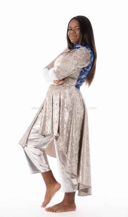 Dance Dress AUTHORITY Soft velvet beautiful Modern Praise Dance Garment