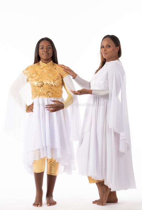 White Angel Wings Dress