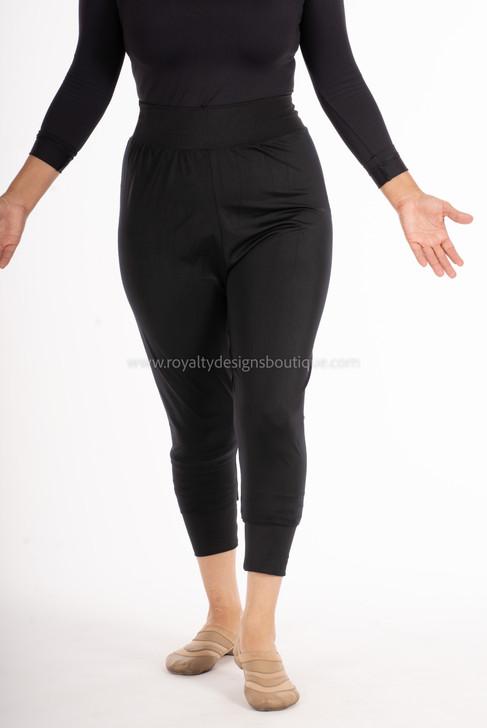 Capri Praise Dance Pants in high Quality Stretch Fabric