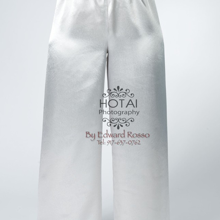 Elegant Satin Straight Leg Long Praise Dance Pants
