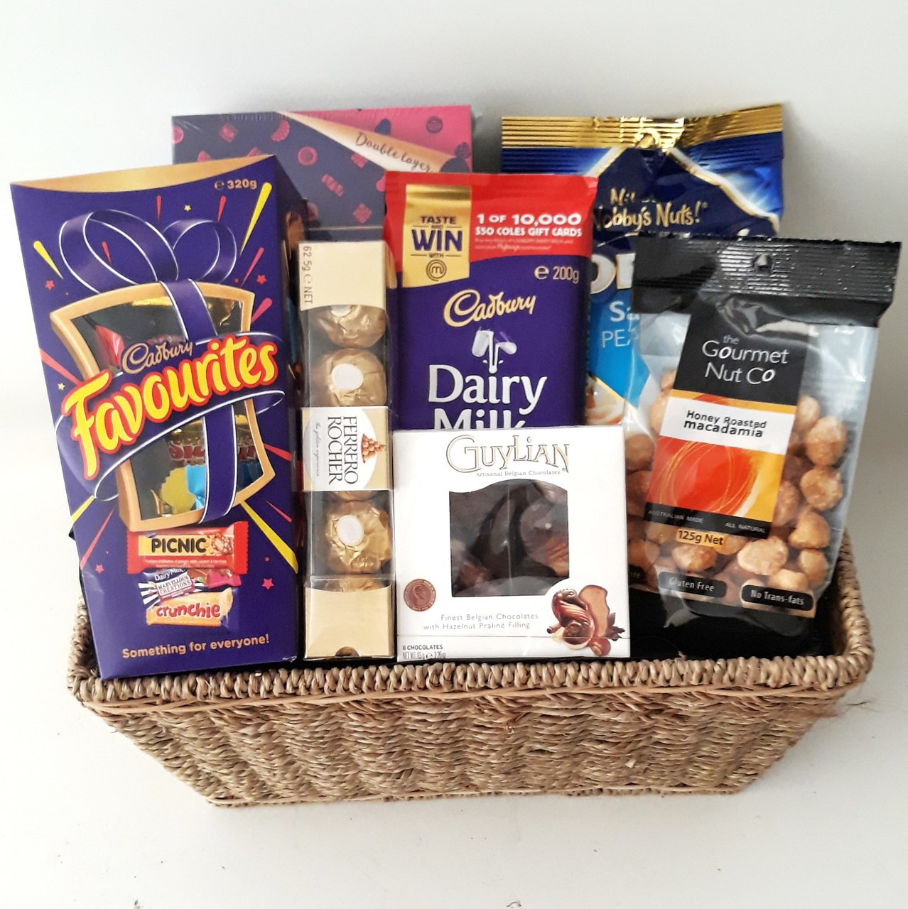 Chocolate Nut Delight Gift Basket