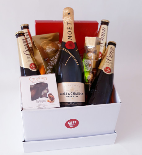 Champagne & Beer Basket