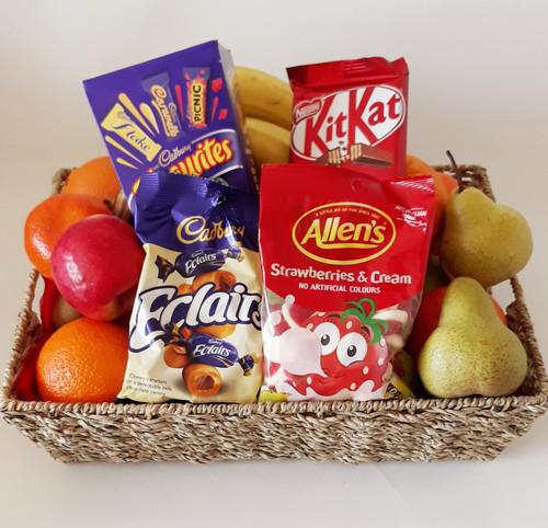 Hospital Fruit & Choc Basket