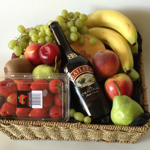 Fruit With Baileys Basket